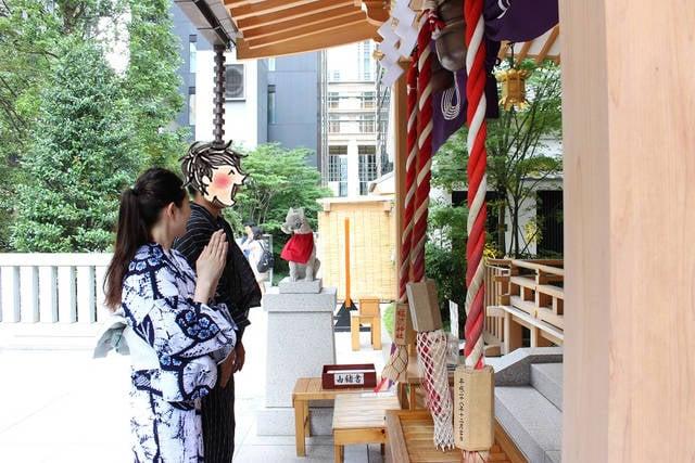 【妄想デート】クラシカルな日本橋で浴衣デートがしたい!