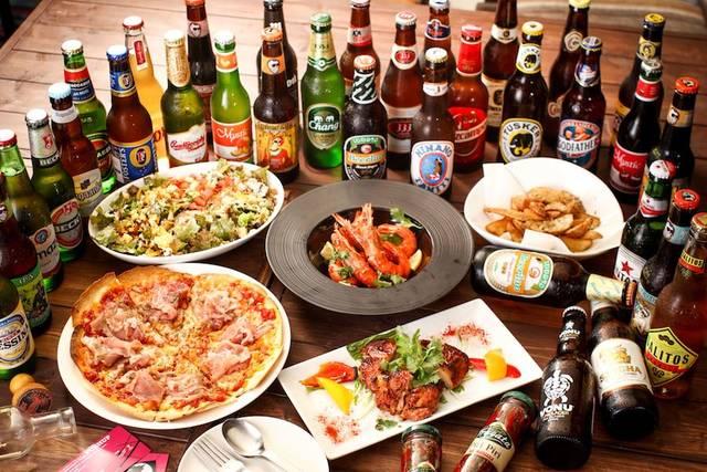 世界のビールと世界一周旅料理が楽しめる室内ビアガーデン登場![東京・秋葉原]