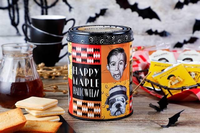 「ザ・メープルマニア」、季節限定「メープルハロウィン缶」を今年も発売[東京・丸の内]