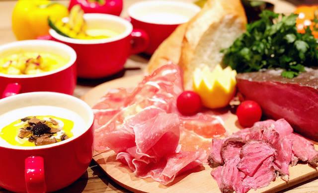 """生ハムを""""秋の味覚フォンデュ""""で食べ尽くすプランを1,980円で提供開始[千葉・柏]"""