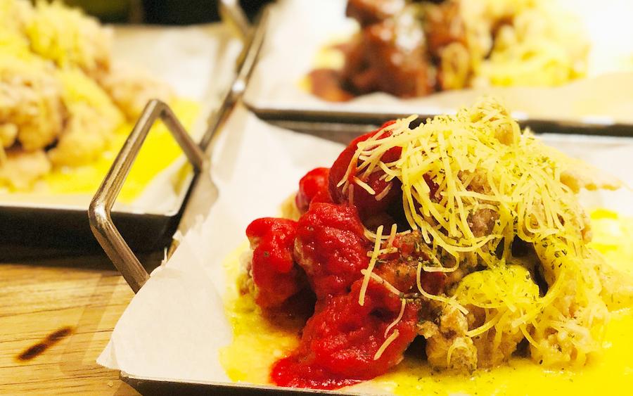 韓国で大流行中のチーズ料理「フォンデュチキン」の食べ放題を提供開始