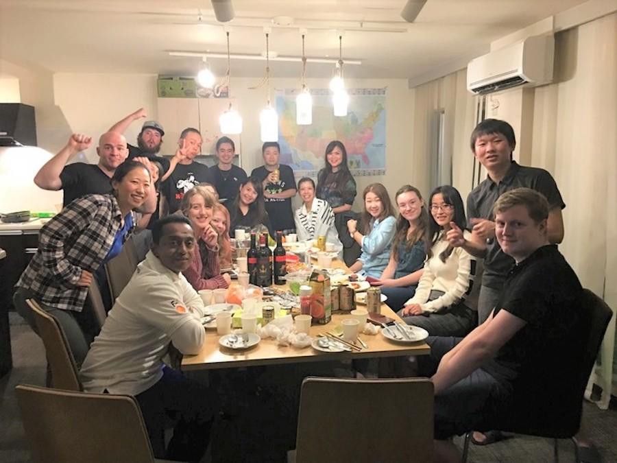 英語が身につくシェアハウスで、国際交流パーティーを開催[東京・平和島]