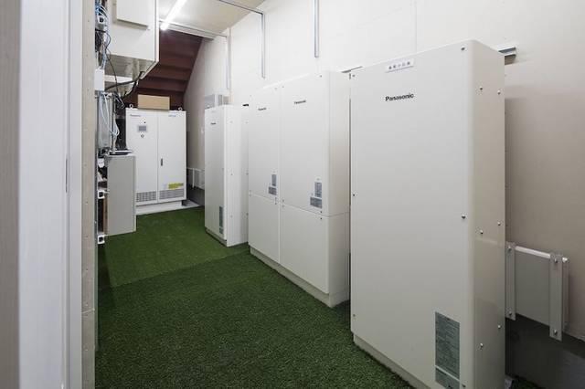 太陽光発電+蓄電+耐震構造で災害に強いオフィス