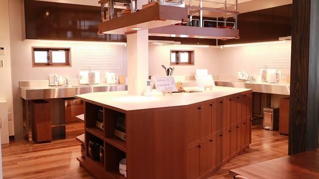 広いスペースを確保したキッチン