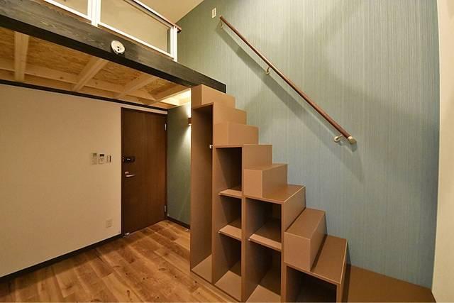 各個室はロフトおよび階段収納付