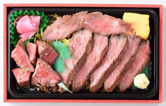 道の駅なかがわ「北海道牛ステーキ誉弁当」1,500円(税込)