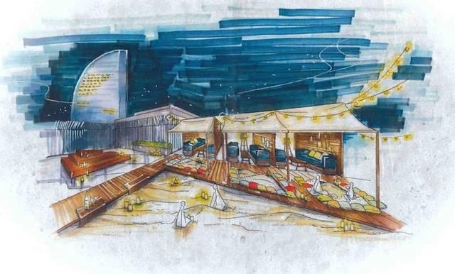 「デジキュー BBQテラス 横浜ワールドポーターズ店」のイメージ
