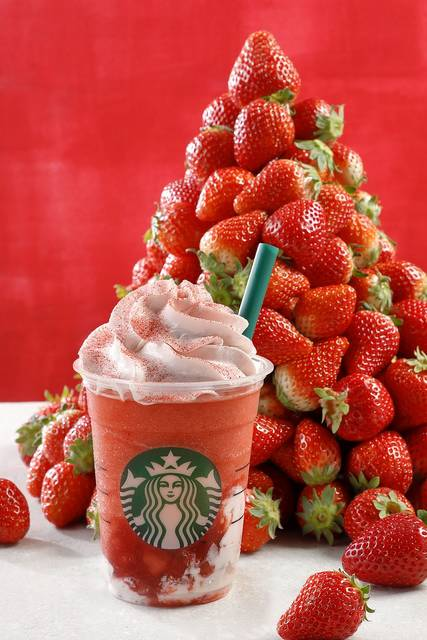 #STRAWBERRYVERYMUCHFRAPPUCCINO(R)