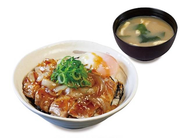「ごろごろチキンのてりたま丼」(590円・税込)