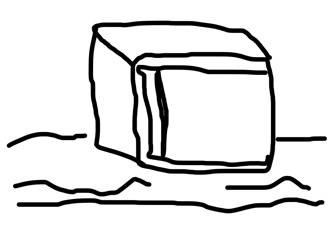 熊谷イラスト 冷蔵庫