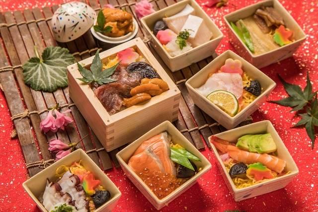 「霧乃個室清郎」で、「蒸し寿司フェア」を開催