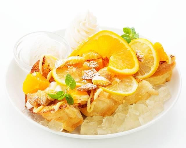 福岡本店の新スイーツ「ハニーレモン(Honey Lemon)」