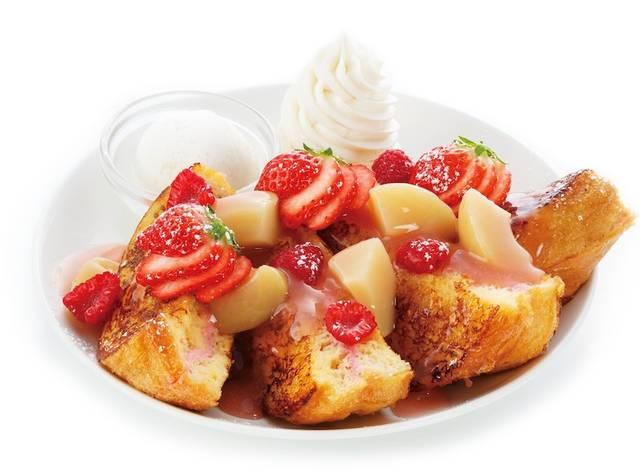 海老名店の新スイーツ「ピーチ&ベリー(Peach & Berry)」