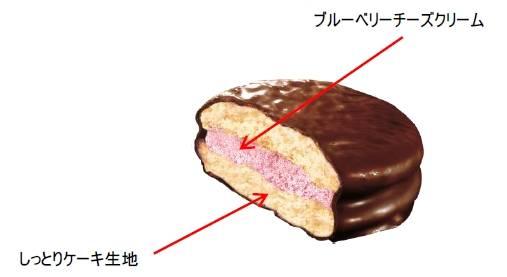チョコパイ<魔法のブルーベリーフロマージュ>