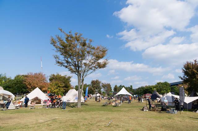 都心のキャンプ場で夏を満喫