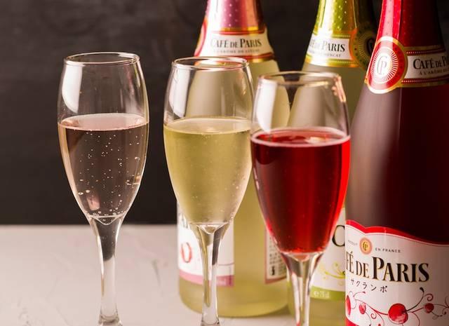 「フルーツスパークリングワイン飲み放題キャンペーン」を実施