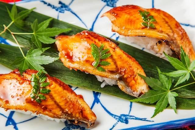 「うなぎの握り寿司」(ディナー限定)