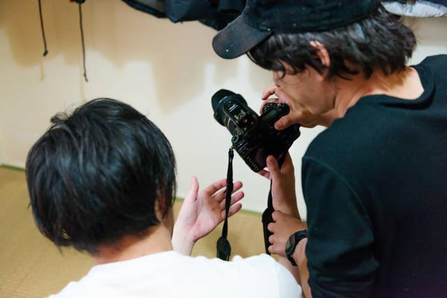 稲田さん カメラマン