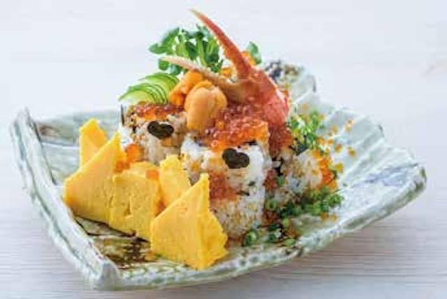 築地玉寿司「絢爛ハレ!! Sushi cake」1,728円(税込)