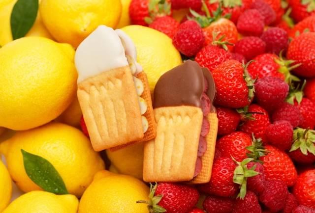 """""""ぎゅっと果実と口溶けバター""""、フルーツをよりおいしく楽しめる「Fairy Crean wich」"""