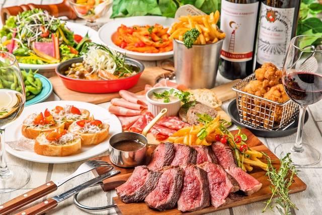 シンプルな肉料理をしっかり味わえる「MEAT RUSH」を提供