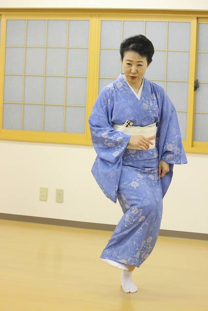 波島陽子 日本舞踊