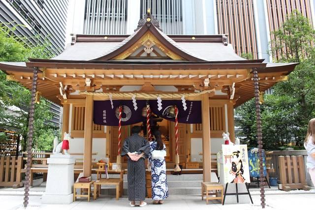 福徳神社 浴衣 デート