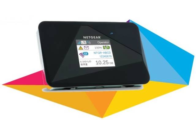 モバイルルーター・AirCard LTE対応 SIMフリー モバイルホットスポット(モバイルルーター) AC785 | ネットギア【NETGEAR】 (2777)