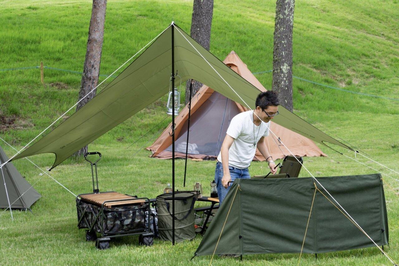 富士山麓のゴルフ場跡地、4万坪の広大な敷地に広がる贅沢空間 Mt.FUJI CAMP RESORTがオープンしました