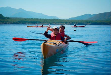 ネイチャーナビ|西湖のカヌー、カヤック体験のご案内 (760)
