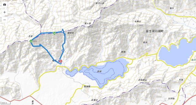 新緑を求めて鍵掛峠・王岳 / たかちゃんさんの鳴沢村の活動データ   YAMAP / ヤマップ (2879)