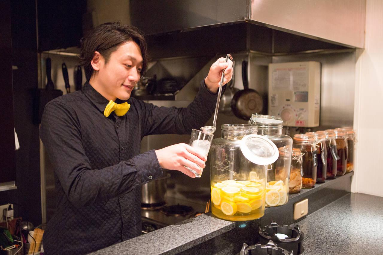 バリエーション豊かなレモンサワーと相性のよい料理の噺