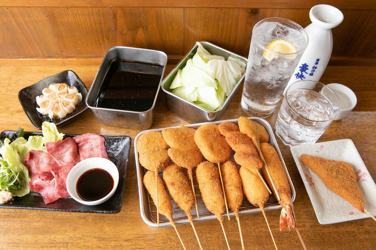 """お酒と楽しむ大人の駄菓子、""""串カツ""""の噺"""