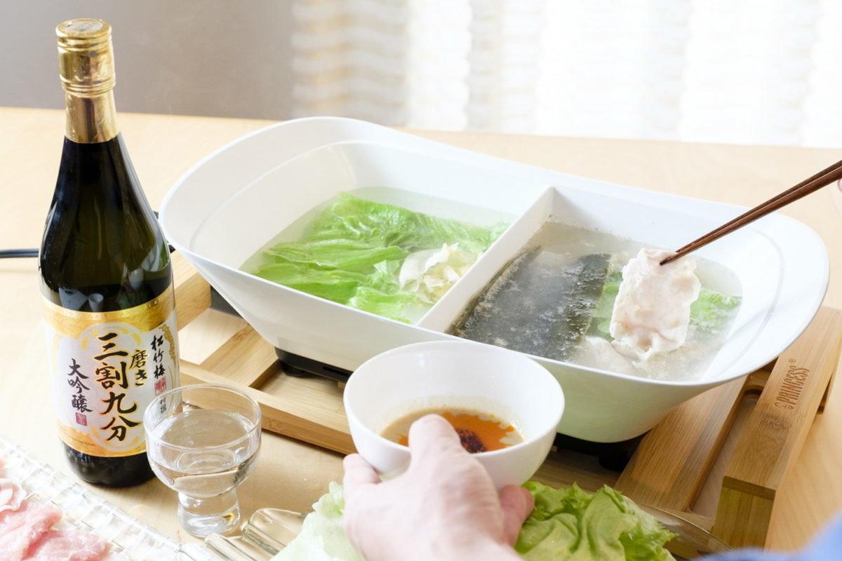 冬はやっぱり鍋が一番! 最新調理家電で「お酒に合う鍋料理」を作る噺