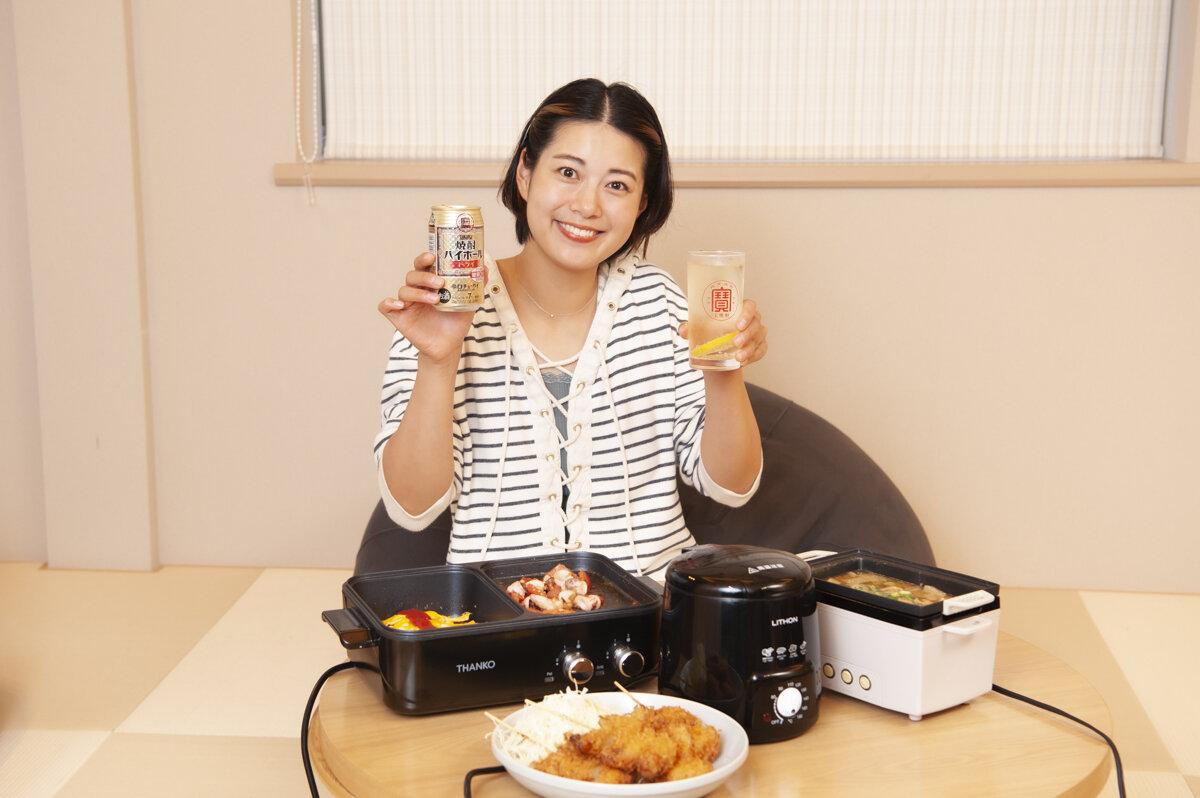 焼酎ハイボールに合う!「東京・大衆酒場の名店」のおつまみを、約5000円の調理家電で再現する噺