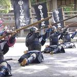 Hioki Matchlock Gun Troop and the Vigorous Samurai Shimazu Clan in Kagoshima