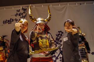 Samurai Tour in the Matrix ; Traditional Samurai Tour experience with a technological twist