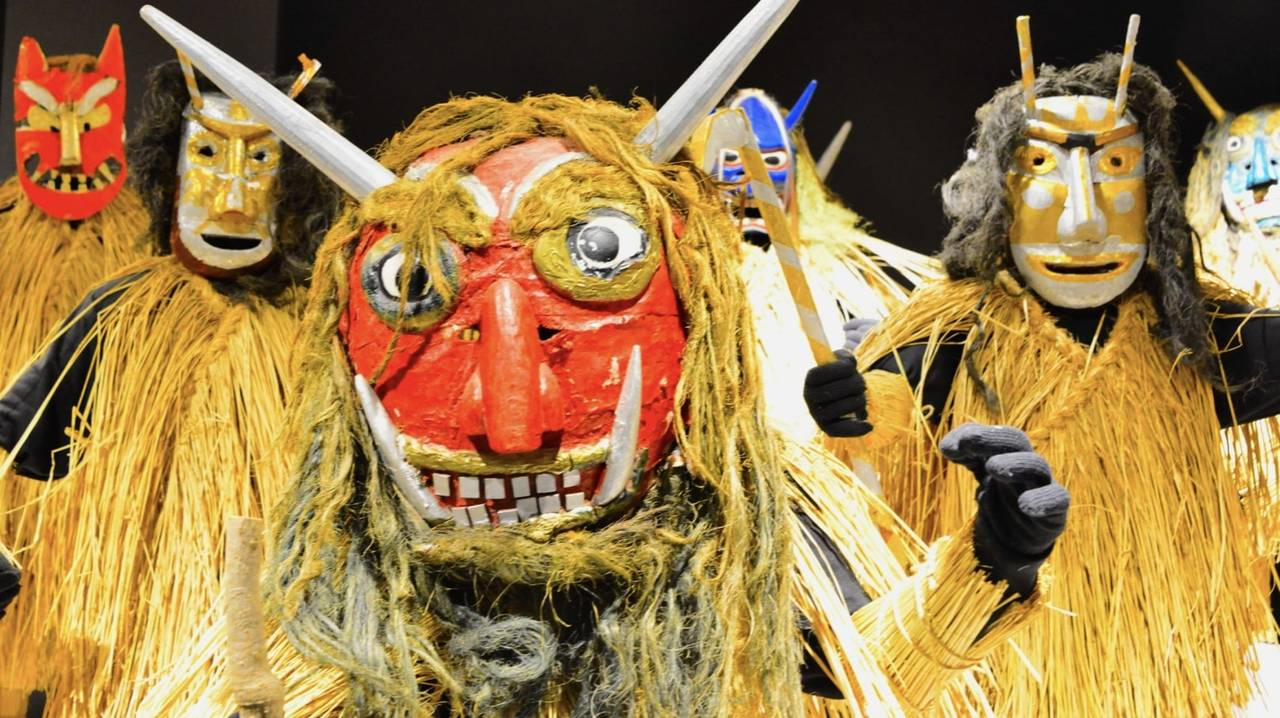 Akita's Long Winter And Oga's Namahage Festival