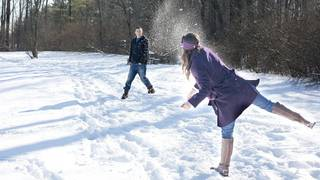The 1st Snowball Fight Asia Cup In Japan Hosted By JTB And Minakami Tourism Association