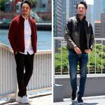 「Men's Bigi 」と「HIROSHI TSUBOUCHI」のコラボレーションスニーカーが登場