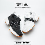 「Reebok」INSTAPUMP FURY BOOST™第三弾-BLACK&WHITE-が発売