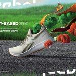 【Reebok】植物由来素材を原料とした、ブランド初の高機能性ランニングシューズ
