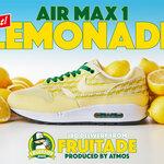 """【NIKE】atmosの「FRUITADE」第三弾は「AIR MAX 1 """"LEMONADE""""」"""