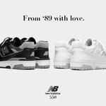 【New Balance】1989年から愛をこめて、名作バッシュを復刻させた「BB550」