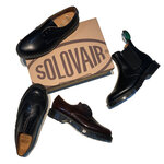 Dr.マーチンとも関係あり?エアーソールの革靴「SOLOVAIR」とは
