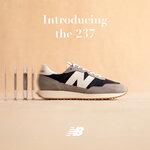 【New Balance】アーカイブモデルから着想を得た「237」に新色が登場