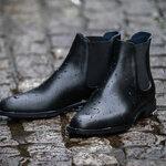 【三陽山長】革靴に匹敵するクオリティを追求したレインシューズ「防水 誠十郎」を発売