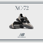 【New Balance】最新モデル「XC-72」にグレーが登場
