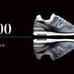 【New Balance】Made in U.S.A.「1400」オリジナルカラーのスティールブルーを発売