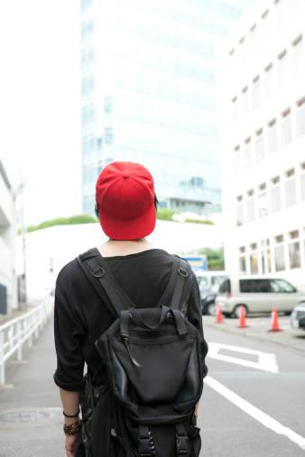 自転車通学には重たい荷物をしっかり運べるリュックが便利!